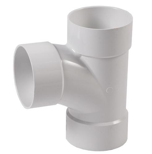 Sewer drain pvc sanitary tee at menards