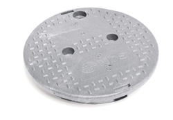 "10"" Round Overlapping Cover - Electrical"