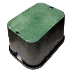 "14"" x 19"" Valve Box with Overlapping Bolt-Down Cover-Sewer"