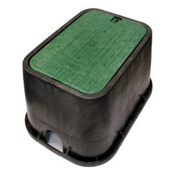 "14"" x 19"" Valve Box with Drop In Cover-Sewer"