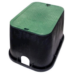 """14"""" x 19"""" Valve Box with Overlapping Bolt-Down Cover-Electrical"""