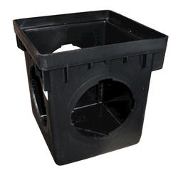 """12"""" x 12"""" x 2' Catch Basin with 3 Openings"""