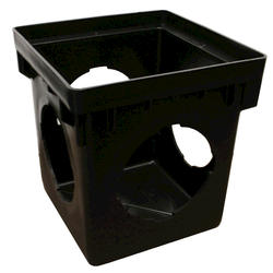 """12"""" x 12"""" x 2' Catch Basin with 4 Openings"""