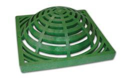 """12"""" x 12"""" Atrium Grate, Green"""