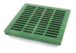 "24"" x 24"" Square Grate, Green"
