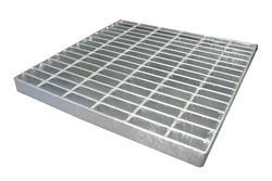 "24"" x 24"" Square Galvanized Steel Grate"