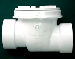 "6"" ABS Gravity Backwater Valve and Cover"