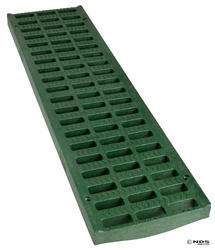 "5"" x 20"" Light Traffic Channel Grate, Green"