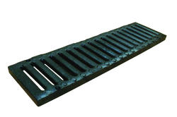 "5"" x 20"" Cast Iron Channel Grate"
