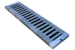 "8"" x 20"" Load Star Heavy Traffic Channel Grate"