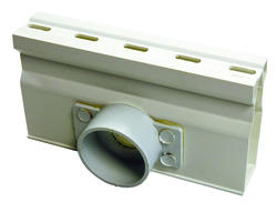 """Micro Channel 1-1/2"""" Schedule 40 Spigot Bottom Outlet, Sand"""