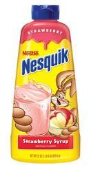 NESTLE® Nesquik® Strawberry Syrup - 22 oz.