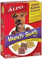 Purina ALPO Variety Snaps Dog Treats - 32 oz
