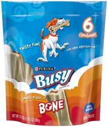 Purina Busy Bone Small & Medium Dog Treats - 21 oz