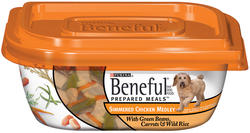 Beneful Prepared Meals Simmered Chicken Medley Dog Food - 10 oz