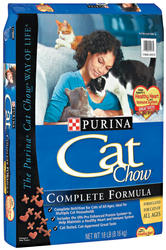 Purina Cat Chow Original Cat Food - 16 lbs