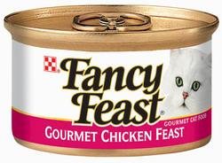 Fancy Feast Gourmet Classic Chicken Cat Food - 3 oz