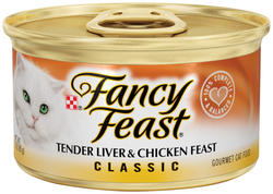 Fancy Feast Classic Liver & Chicken Cat Food - 3 oz