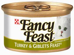 Fancy Feast Classic Turkey & Giblets Cat Food - 3 oz