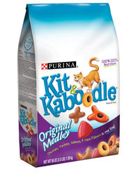 Kit & Kaboodle Original Medley Cat Food - 3.15 lbs