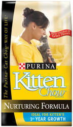 Purina Kitten Chow Cat Food - 3.15 lbs