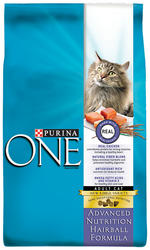 Purina ONE Advanced Nutrition Hairball Formula Cat Food - 3.5 lbs