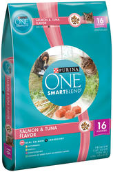 Purina ONE Salmon & Tuna Dry Cat Food - 16 lbs