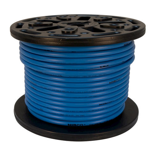 Blue pex tubing spool at menards