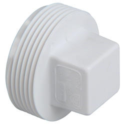"""6"""" Male Plug DWV"""