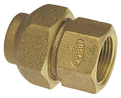 "1/2"" FLR x FIPT Copper Alloy Flared Adapter"
