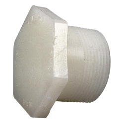 "3/4"" Threaded Plug PVDF Schedule 80"
