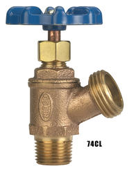 "NIBCO 3/4"" Male Thread To Hose Boiler Drain - Multi-Turn"