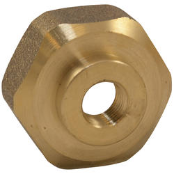 """NIBCO Air Vent Adapter 1/8"""" MIPxFemale Hose Thread"""