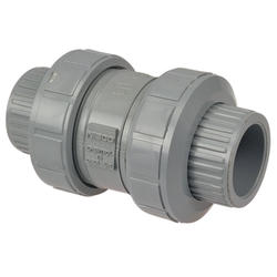 "2"" True Union Ball Check Valve CPVC"