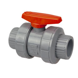 "4"" Threaded True Union Ball Valve EPDM CPVC"