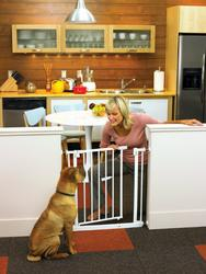 North States™ Easy-Close Pet Gate