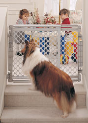 North States™ Walk-Thru Pet Gate