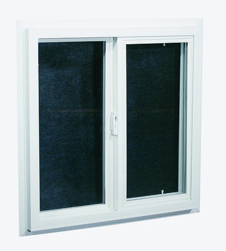 Sliding window w j channel and insulated glass at menards for Vinyl insulated windows
