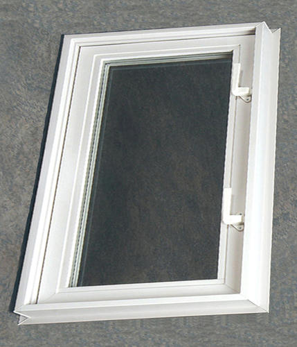 White Vinyl Hopper Casement Window With 3 4 Insulated