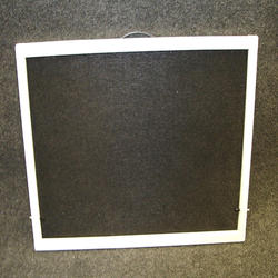 "Northview 24"" x 24"" White Aluminum Utility Slider Window Screen"