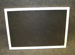 "Northview 48"" x 36"" White Aluminum Slider Window Screen"