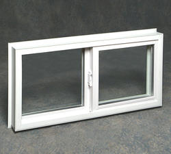 "Northview 32"" x 16"" White Vinyl Sliding Window with 3/4"" Insulated Glass"