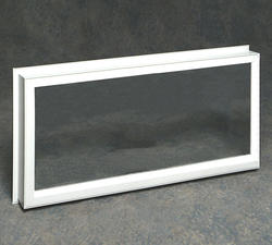 "Northview 46"" x 20"" White Vinyl Ranch Window Replacement Frame"