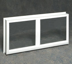 "Northview 36"" x 24"" White Vinyl Utility Slider Window Replacement Frame"