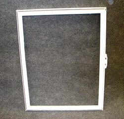 "Northview 36"" x 36"" White Vinyl Utility Slider Window Replacement DSB Sash with Lock"