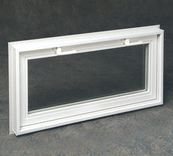 "Northview 46"" x 20"" White Vinyl Ranch Window with Clear Insulated Glass"
