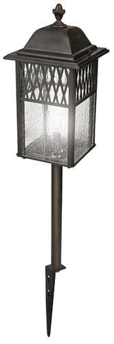 Low voltage landscape lighting menards : Patriot lighting? manchester dark rust low voltage path