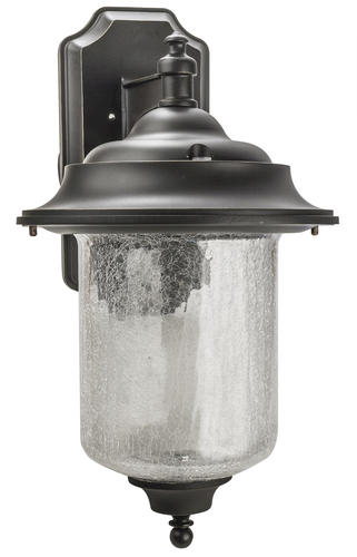 Patriot Lighting Brussels Oil Rubbed Bronze Outdoor Wall Light At Menards