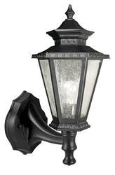 Patriot Lighting® Burnaby Black Outdoor Wall Light Head