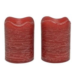 Inglow Pomegranate Flameless Votive Candles - 2 pk.